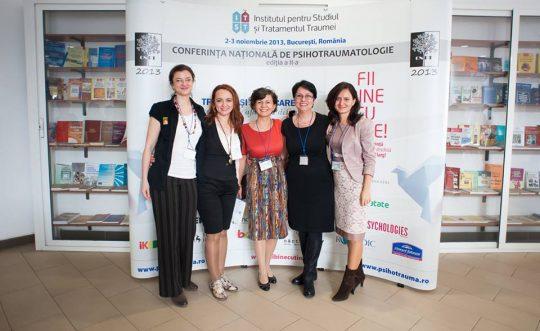 Conferinta Nationala de Psihotraumatologie 2013
