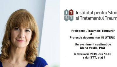 "Prelegere ""Traumele timpurii"" & Proiectie documentar IN UTERO – 6 februarie 2019"