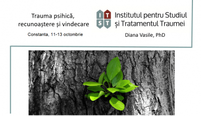 Workshop: Trauma psihica – recunoastere si vindecare, Constanta, 11-13 octombrie