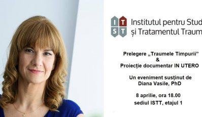"""Prelegere """"Traumele timpurii"""" & Proiectie documentar IN UTERO – 8 aprilie, BUCURESTI"""
