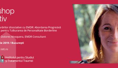 Workshop ISTT: prof. Dolores Mosquera, Consultant EMDR