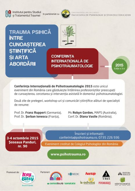 Conferinta Internationala de Psihotraumatologie 2015