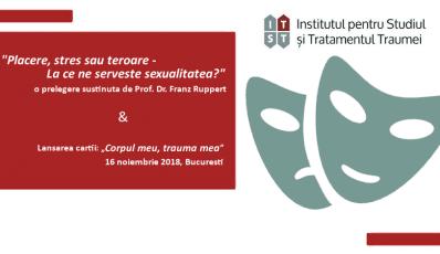 Prof. Dr. Franz Ruppert, prelegere pe tema: Sexualitatea – placere, stres sau teroare?