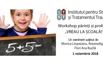 """Workshop ISTT: """"Vreau la școala!"""""""
